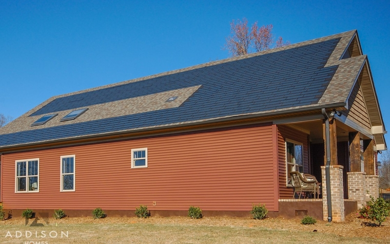 trails edge court exterior front home side solar panels