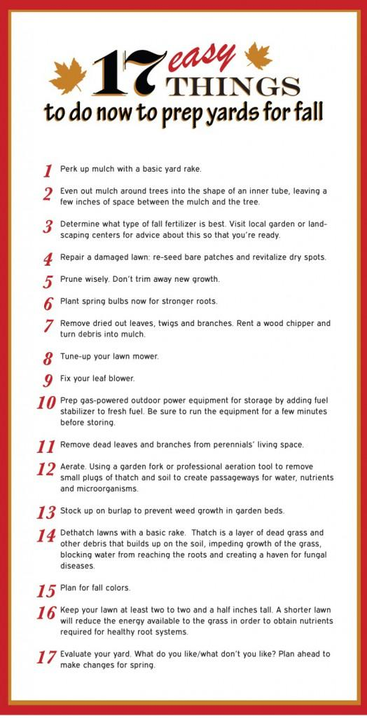 17 prep for fall tips infographic