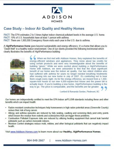 Front page of case study