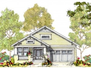 An artists rendition of one of our many model homes!