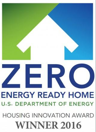 Zero energy ready home housing innovation award 2016