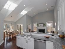 Kitchen in model zero energy home