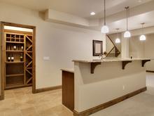 bar in basement